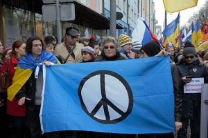 Одесса, Марш, мир, Правый сектор, улица, вышиванки, флаги