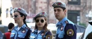 гюмри, армения, полиция армении, происшествие ,убийство, общество, солдат рф