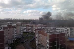Донецк, Кировский район, пожар, 14 августа, Лидиевка
