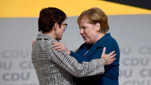 Германия, Меркель, Аннегрет Крамп-Карренбауэр, Канцлер, Министр обороны.