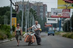 ДНР, Захарченко, беженцы, переселенцы, Донбасс, Донецк, восток Украины, ЛНР, АТО