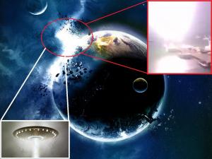 НЛО, пришельцы, апокалипсис, озоновый слой, атмосфера, Земля, Индонезия, вторжение