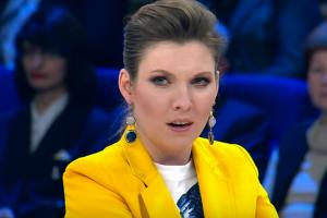 новости, росТВ, Россия 1, 60 минут, Ольга Скабеева, Украина, русский язык