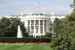 белый дом, охрана, кусты, сша
