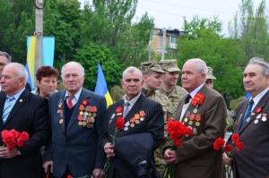 новости украины, новости донбасса, день победы в мариуполе, ветераны мариуполя