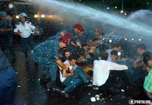 ереван, митинг, протест, армения