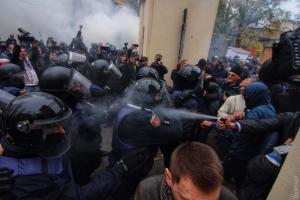 одесса, полиция, столкновения, драка, пострадавшие, головин