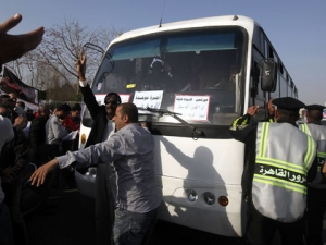 автобус, авария, каир, египет, происшествия
