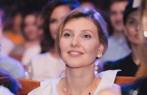 елена зеленская, первая леди, украинцы поддержали пост