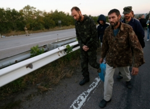 юго-восток, обмен пленными, Донбасс, АТО, нацгвардия, Украина, ВСУ, армия Украины