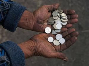донецк, милостыня, нищие, общество, днр, финансы, деньги, донбасс, новости украины