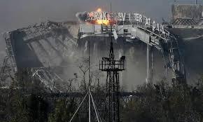 АТО, аэропорт ,Донецк, штурм, огонь, прекращение, генералы