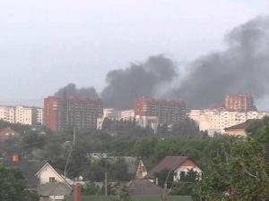луганск, бомбежка, град, ато, шахтерский квартал