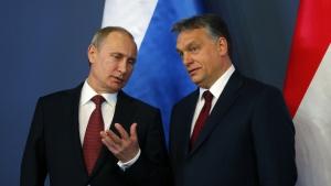 Нитрас, Орбан, украинские территории, Европа