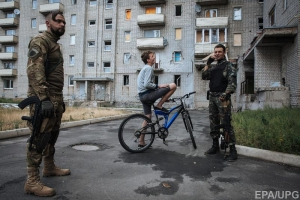 авдеевка, силы ато, обстрел, пресс-центр, днр