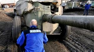 ДНР, Украина, отвод техники