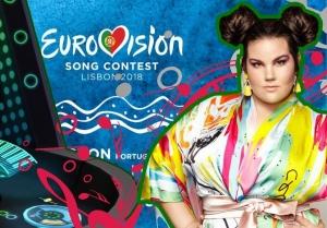 евровидение, 2018, лиссабон, конкурс, шоу, финал, израиль, Нетта Барзилай