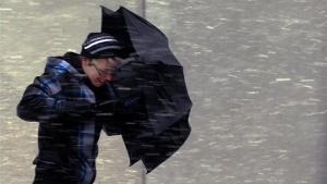 Украина, Кировоград, общество, природные катастрофы, снег, погода, чрезвычайная ситуация