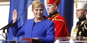 Колинда Грабар-Китарович, президент Хорватии в купальнике, красавица в бикини