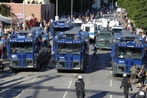 Гамбург, протесты, беспорядки