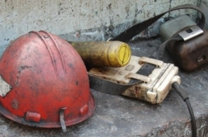 шахта октябрьская, кривой рог, днепропетровская область, шахтер, гибель, гочс, происшествия, чп, обвал породы, шахта, новости украины