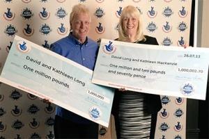 великобритания, супружеская пара, лотерея, выигрыш, миллион фунтов