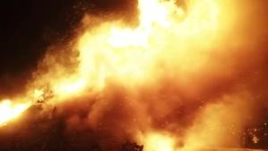 взрыв, пожар, донецк, текстильщик, днр, происшествия, соцсети, донбасс