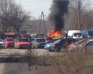 Запорожье, взрыв, происшествия, автомобиль, водитель, общество