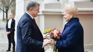 новости, Украина, Киев, Порошенко, Литва, президент, визит, Грибаускайте, переговоры