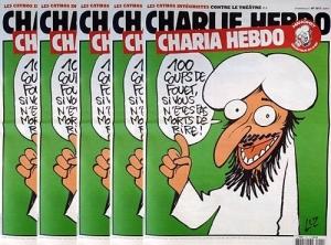 Charlie Hebdo, Мухаммед, карикатуры