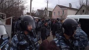 крым, меджлис, крымские татары, новости крыма, общество, происшествия, омон, омон в крыму, полиция крыма, фсб рф, мид украины, киев, фсб, репрессии в крыму, политика