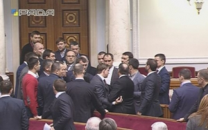 ляшко, верховная рада, драка, айдар, политика, новости украины
