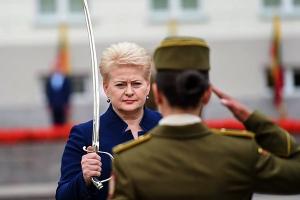 новости, Украина, Литва, Грибаускайте, заявление, военное присутствие, агрессия, Россия, Азовское море
