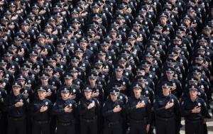 киев, полиция, патрули, новости, угроза, общество, украина, меры безопасности, кинологи, евромайдан, годовщина, революция достоинства
