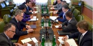 порошенко, сланцевый газ, америка, сотурдничество