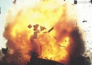 взрыв, пожар, индия