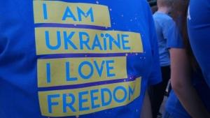 безвиз, порошенко, киев, новости украины, торжества, фото, флешмоб, евросоюз, послы ес