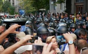 Павел Пинзеник, Народный фронт, протесты в киеве, новости, Украина, еврономера, происшествия