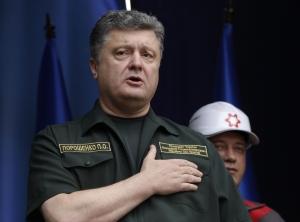 Порошенко, три пути, всу, мирное урегулирование, наступление, донбасс, ато, восток украины, конфликт, политика, интервью