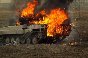 Каменка, АТО, восток Украины, терроризм, ДНР, БМП, танк, ВСУ, армия Украины