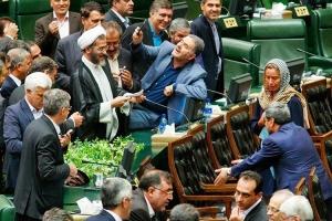 Иран, курьезы, политика, общество, Могерини, иранские депутаты, непристойное поведение