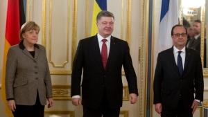 путин, порошенко, меркель, олланд, переговоры