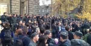 забастовка, киев, военные, ато
