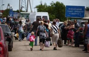 переселенцы, беженцы, восток украины, донбасс, россия