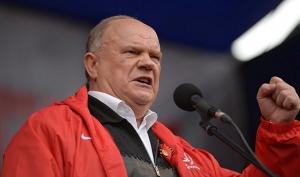  Коммунистической Партии РФ Геннадий Зюганов , угрожает, донбасс, телевидение, пропаганда, рф, переговоры