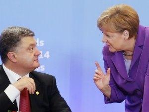 Порошенко, Меркель, Донбасс, ополченцы, разговор, помощь, переговоры