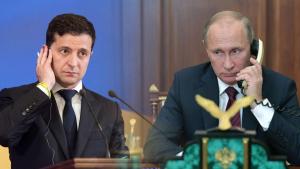 Зеленский, Путин, Переговоры, Звонок, Общение.