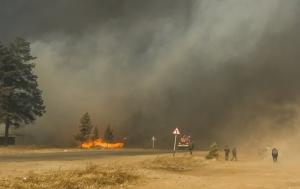 россия, сибирь, хакасия, лесные пожары