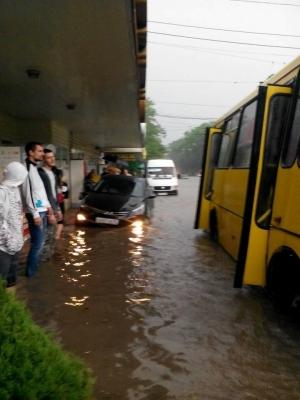 Пришествие, новости Крыма, новости Украины, новости Симферополь, затопила, ливни и дожди в Симферополе.