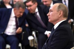 путин, россия, татарстан, миннинханов, скандал